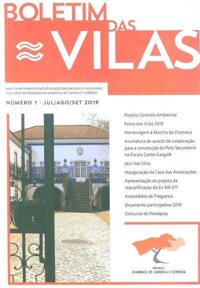Boletim das vilas (coord. Miguel Lourenço)