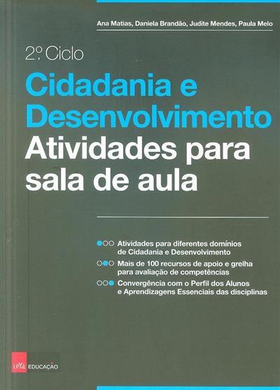 Cidadania e desenvolvimento (Ana Matias... [et al.])