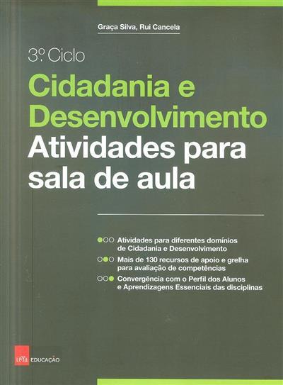 Cidadania e desenvolvimento (Graça Slva, Rui Cancela)
