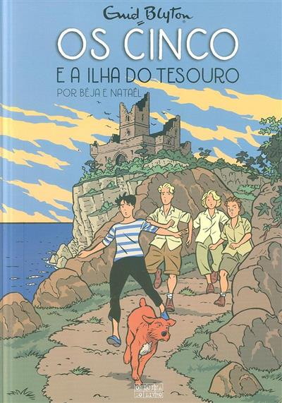 Os cinco e a ilha do tesouro