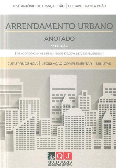 Arrendamento urbano (José António de França Pitão, Gustavo França Pitão )