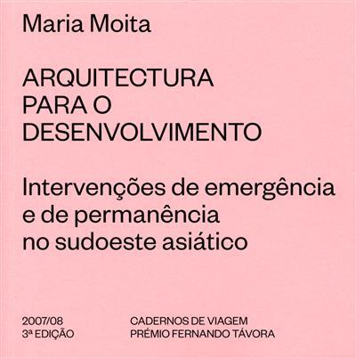 Arquitectura para o desenvolvimento (Maria Moita)