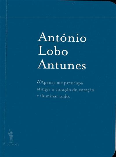 Caderno António Lobo Antunes (ed. Maria da Piedade Ferreira)