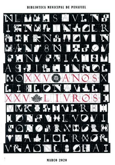 XXV anos XXV livros (Filipe Silva)