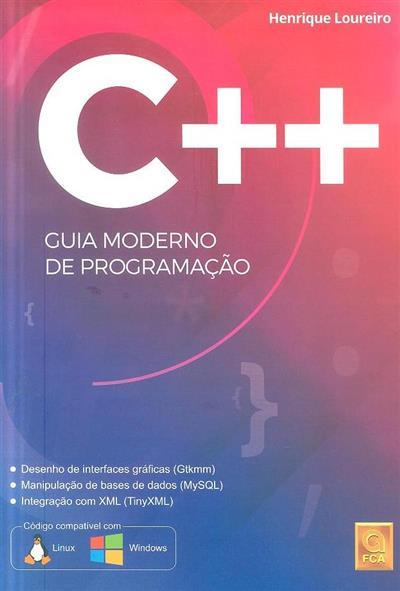 C++, guia moderno de programação (Henrique Loureiro)