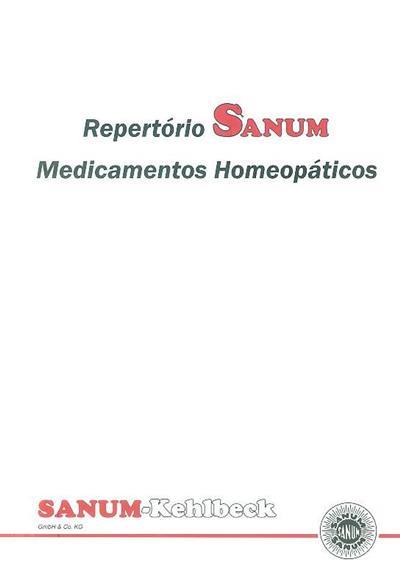 Repertório Sanum, medicamentos homeopáticos