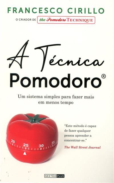 A técnica pomodoro (Francesco Cirillo)