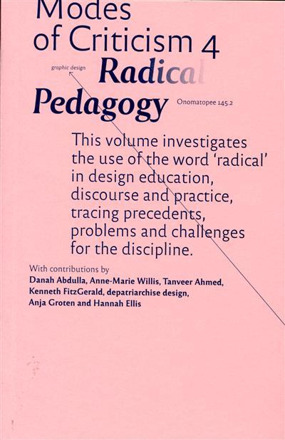 Radical pedagogy (ed. Francisco Laranjo)