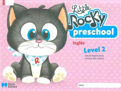 Little Rocky preschool student's book