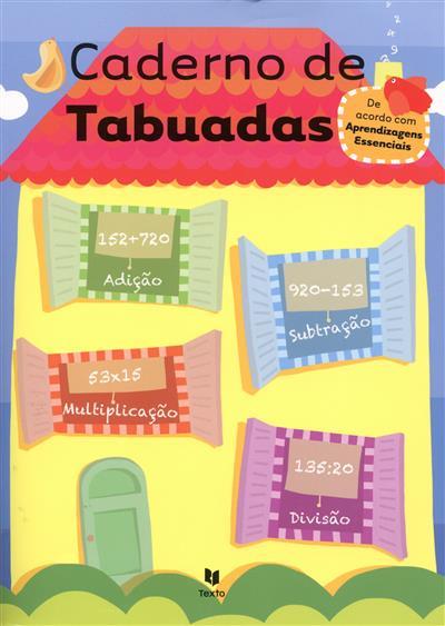Caderno de tabuadas
