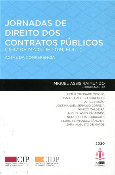 Jornadas de Direito dos Contratos Públicos (coord. Miguel Assis Raimundo)