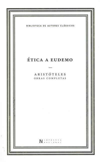 Ética a Eudemo (Aristóteles)