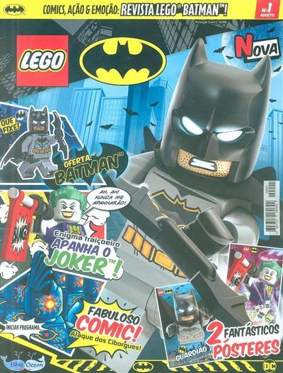 Revista Lego Batman! (ed. Blue Ocean Entretainment Portugal)