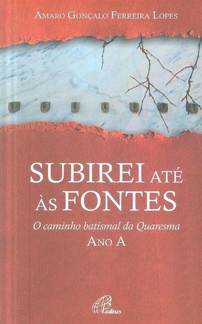 Subirei até às fontes (Amaro Gonçalo Ferreira Lopes)