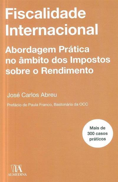 Fiscalidade internacional (José Carlos Abreu)