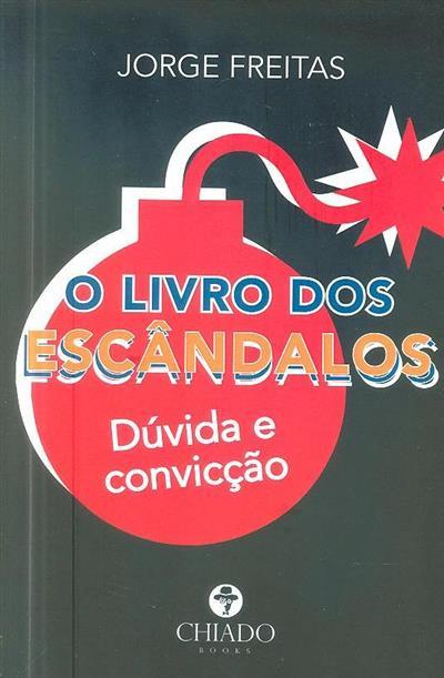 O livro dos escândalos (Jorge Freitas)
