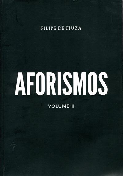 Aforismos 2 (Filipe de Fiúza)