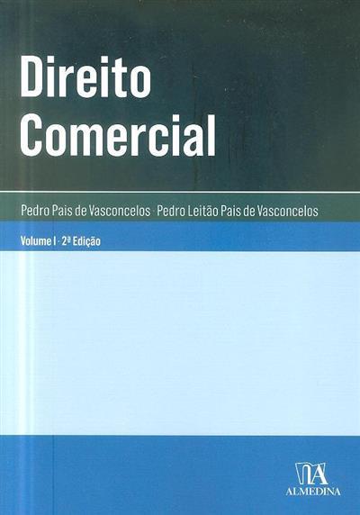 Direito comercial (Pedro Pais de Vasconcelos)