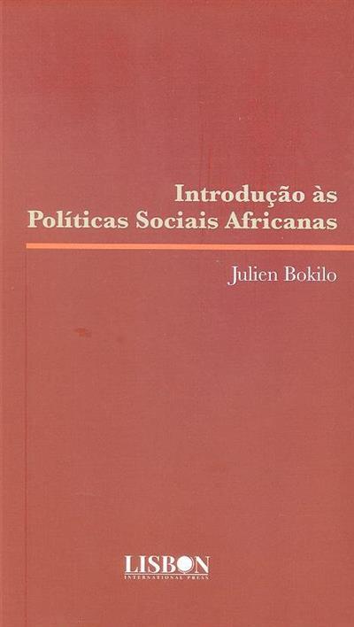 Introdução às políticas sociais africanas (Julien Bokilo)