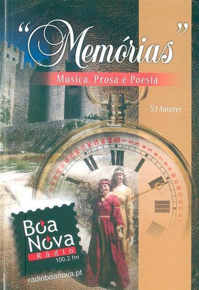 Memórias (org. Natália Novais, Zé Conde)