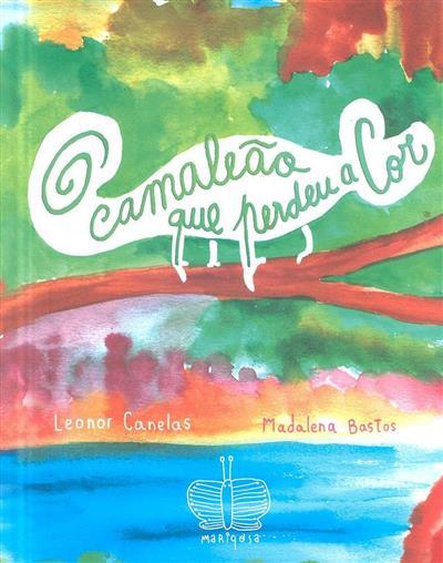 O camalião que perdeu a cor (Leonor Canelas)