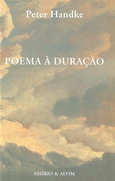 Poema à duração (Peter Handke)