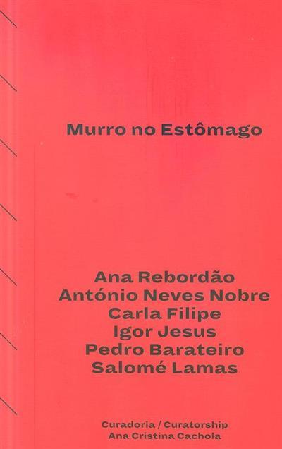 Murro no estômago (Ana Rebordão... [et al.])