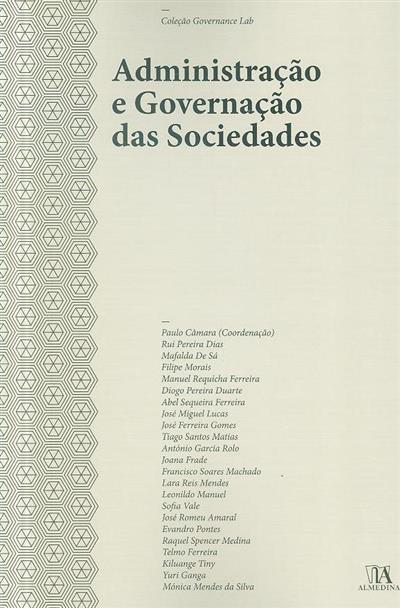 Administração e governação das sociedades (coord. Paulo Câmara... [et al.])