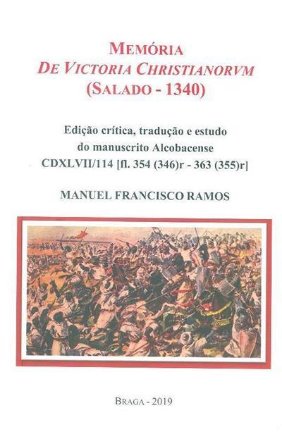 Memória de Victoria Christianorvm (Salado - 1340) (Manuel Francisco Ramos)