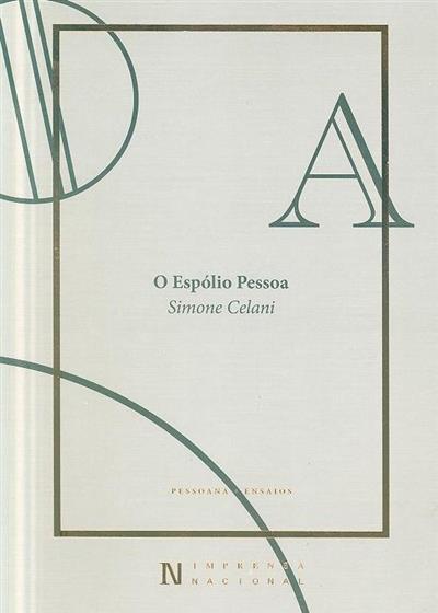 O espólio Pessoa (Simone Celani)
