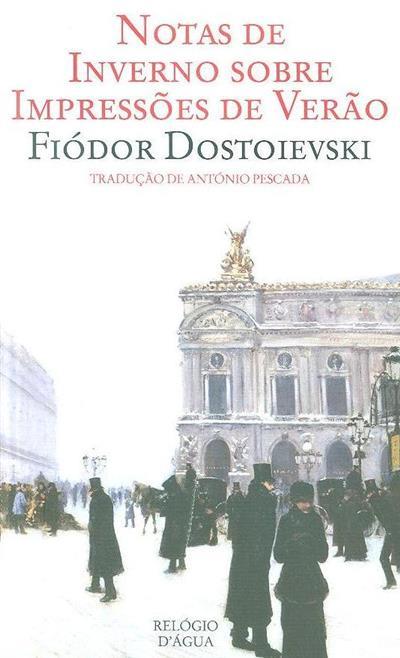 Notas de inverno sobre impressões de verão (Dostoievski Fiodor)