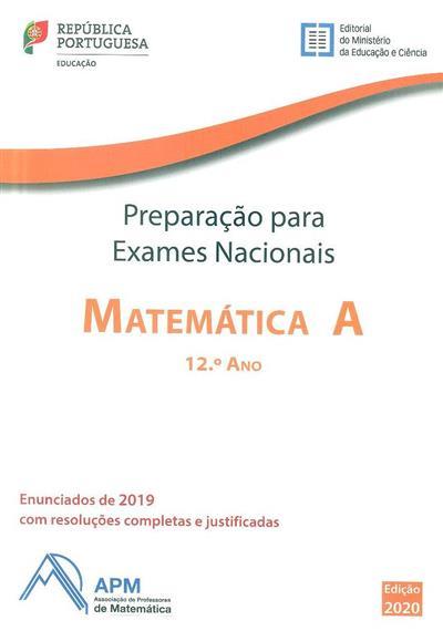 Preparação para exames nacionais matemática A, 12ª ano