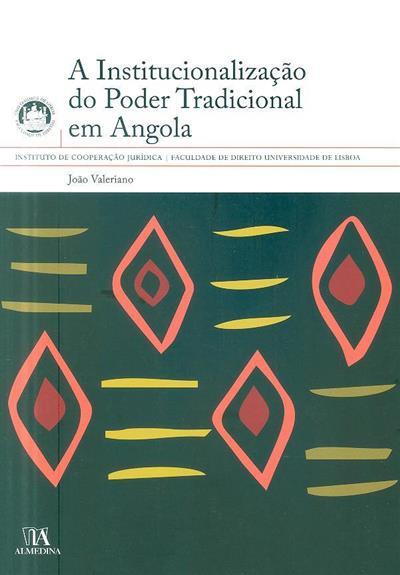 A institucionalização do poder tradicional em Angola (João Valeriano)