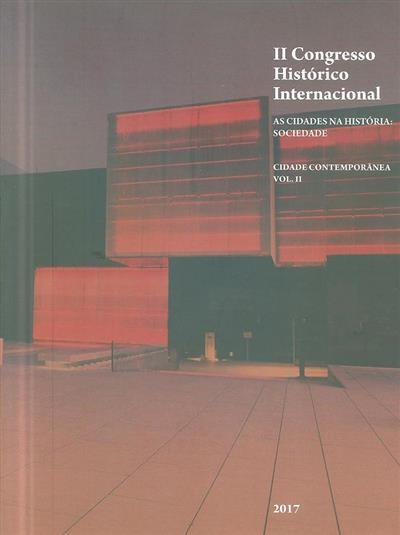 As cidades na história (II Congresso Histórico Internacional)