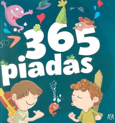 365 piadas (texto Fabrice Lelarge)