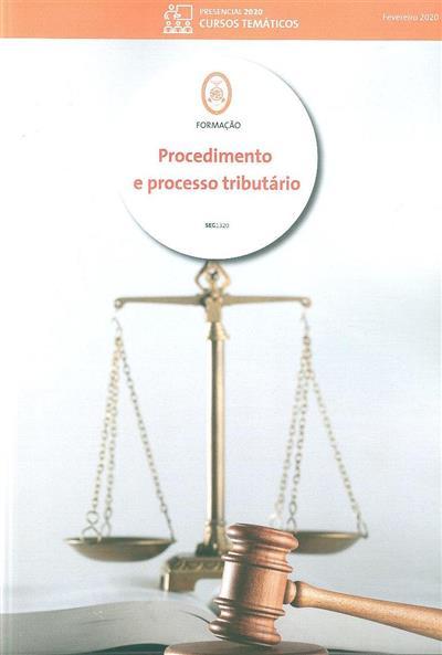 Procedimento e processo tributário (Jorge da Costa)