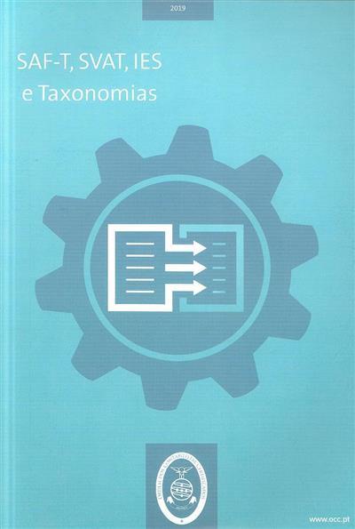 SAF-T, SVAT, IES e taxonomias (Jorge Carrapiço)