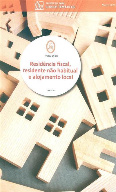 Residência fiscal, residente não habitual e alojamento local (Marília Fernandes)