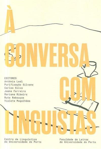 À conversa com linguistas (ed. António Leal... [et al.])