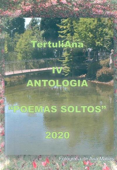 """Antologia poética """"Poemas Soltos"""""""