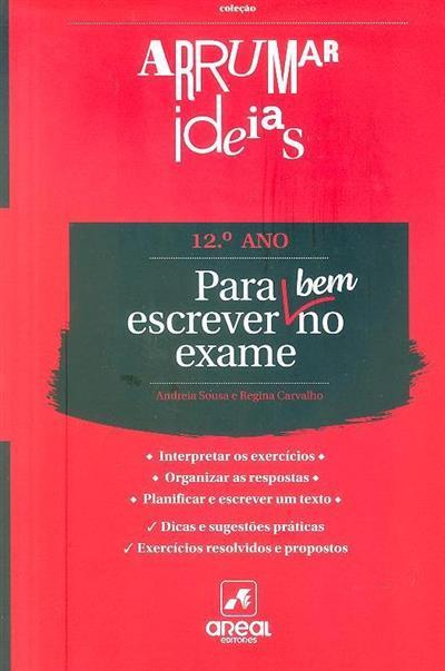 Para escrever bem no exame português