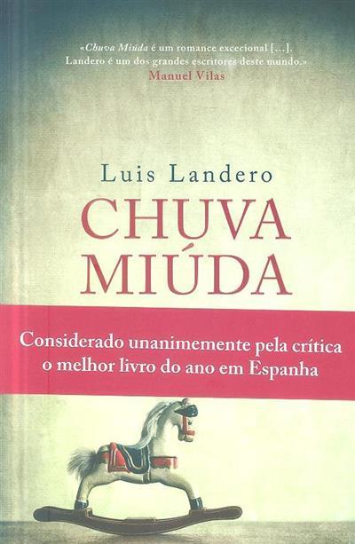 Chuva miúda (Luis Landero)