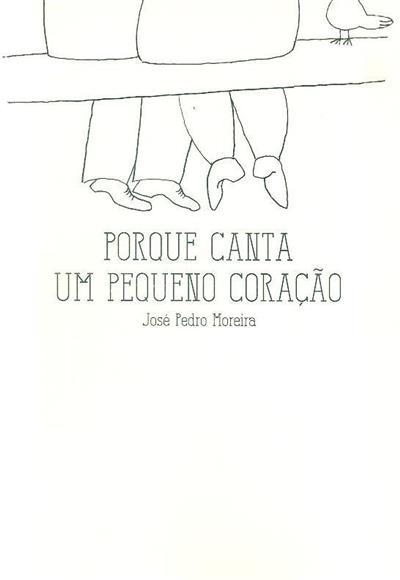 Porque canta um pequeno coração (José Pedro Moreira)