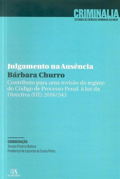 Julgamento na ausência (Bárbara Churro)