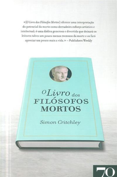O livro dos filósofos mortos (Simon Critchley)