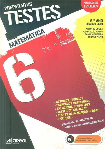 Matemática, 6º ano, segundo ciclo (António Sousa... [et al.])
