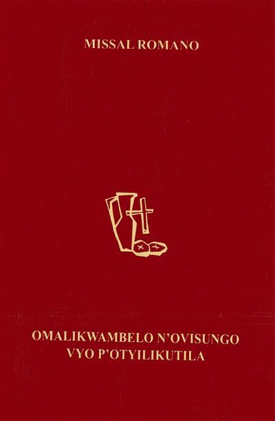 Missal popular dominical (trad. Vapor Saprinho, António Mbuta, Alberto dos Anjos Coelho)