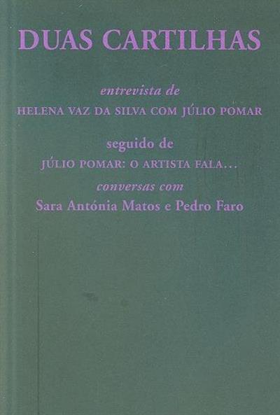 Duas cartilhas (apresentação Sara Antónia Matos)