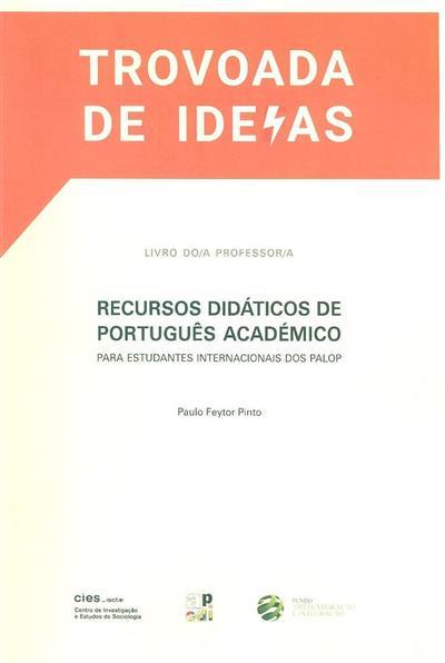 Trovoada de ideias (Paulo Feytor Pinto)