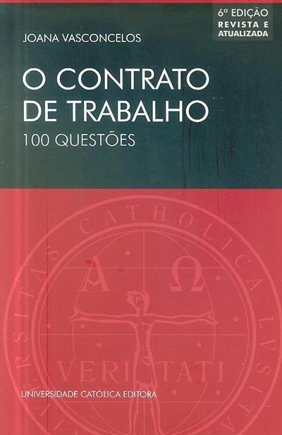 O contrato de trabalho (Joana Vasconcelos)